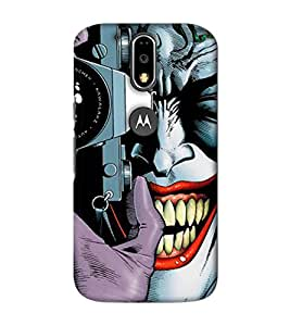 Design Cafe Back Cover For Motorola Moto G4 Plus