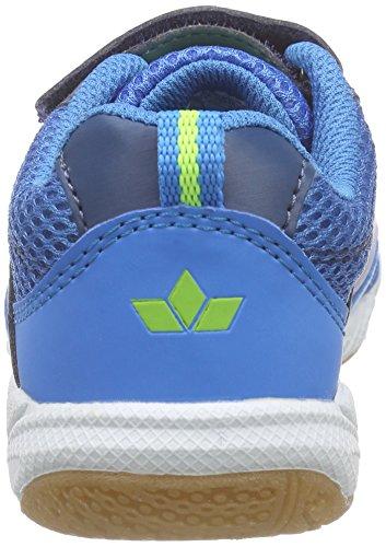 Lico  Sport VS, Chaussures Multisport Indoor garçon bleu (blau/marine/lemon)