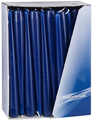 Gies Bleu foncé conique Bougies Bougies 24.5 cm (100)
