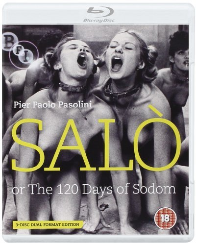 Salo, Or The 120 Days Of Sodom [Pier Paolo Pasolini] Dual Format Edition (2 Blu-Ray) [Edizione: Regno Unito]