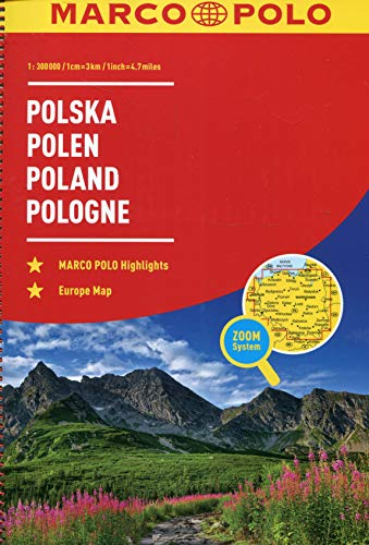 Preisvergleich Produktbild MARCO POLO Reiseatlas Polen 1:300 000: Wegenatlas 1:300 000 (MARCO POLO Reiseatlanten)