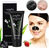 Blackhead Peel Off Mask LuckyFine Bamboo Charcoal Blackhead Removal Facial Deep Cleansing Mask