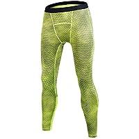 NO BRAND Ropa Casual Pantalones Guo sigetu Hombres Deportes Entrenamiento Estiramiento (Color : Green, tamaño : 2XL)