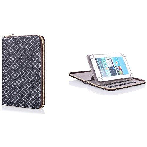 Bookstyle Tasche für Allview Viva H1001 LTE Etui Schutzhülle 360° Case 9-10 Zoll
