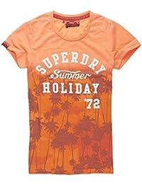 Superdry Damen T-Shirt Summer Holiday Tee