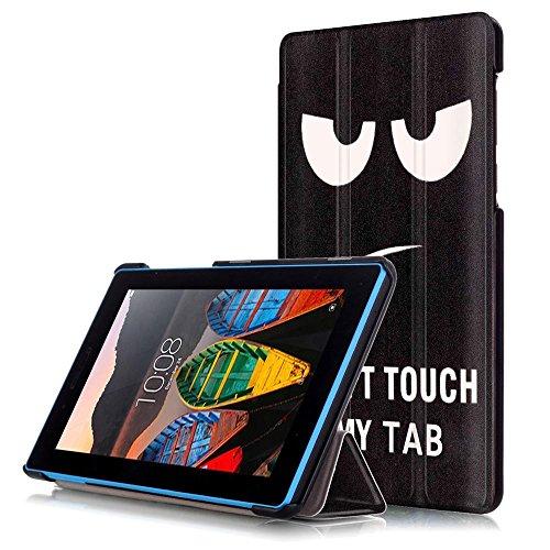 DETUOSI Lenovo Tab 3 7.0'' Cover Ultra Slim Custodia in Pelle PU per Lenovo Tab 3 7.0 Polici Tablet(TB3-730F/TB3-730X/TB3-730M) Copertura Protettiva con Supporto