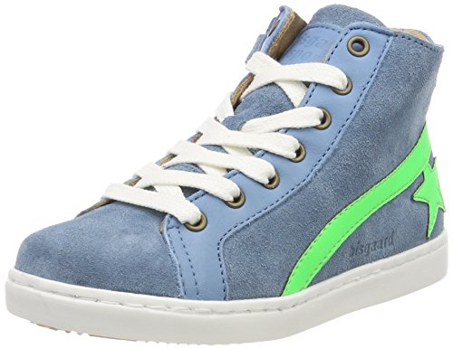 Bisgaard Unisex-Kinder Schnürschuhe Hohe Sneaker, Blau (Sky Blue), 38 EU