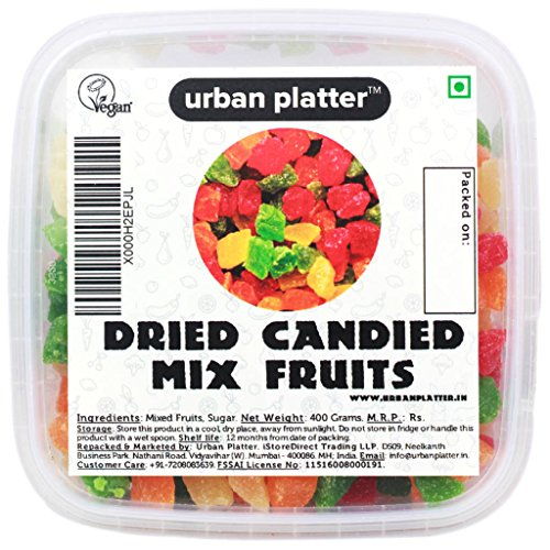 Urban Platter Mixed Tropical Dried Fruits, 400g Tray