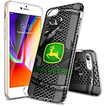 JKFO Funda para iPhone 7 and iPhone 8 Bumper Anti-choques/Anti-arañazos Funda para iPhone 7/8 (HD Clara LAFJAFJJD00176)