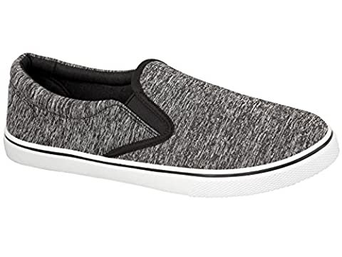 Foster Footwear , Baskets mode pour homme - blanc - Black Jersey,
