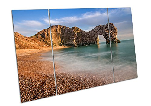 Kunstdruck auf Leinwand Durdle DOR eine Rock Arch Jurassic Coast Dorset England - Large Split