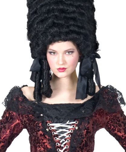 Kostüm Rokoko Madeleine Damen Größe 40/42 Rokoko Barock Gräfin Madame Kleid schwarz rot Adel...