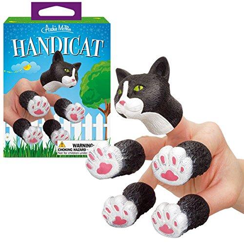 Handicat Finger Puppet