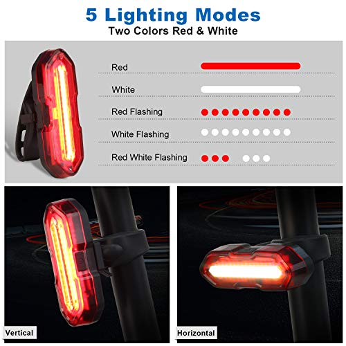 Zoom IMG-3 omeril luci bicicletta led ricaricabili
