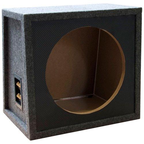 Subwoofer Leergehäuse für 30cm/12Zoll Basslautsprecher 18mm MDF 27 Liter Inhalt