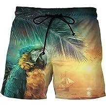 Anguang Hombre Tallas Grandes BoardShorts Casual Impreso Secado rápido Playa Pantalones cortos