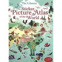 Sticker Picture Atlas of the World (Sticker Book)
