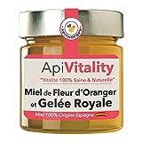 """""""ApiVitality"""" Miel de fleur d'oranger et gelée royale fraîche, 300g"""