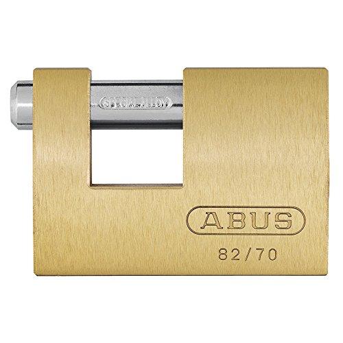 ABUS Vorhangschloss Messing Monoblock 82, 11491
