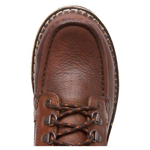 Rocky Western Cruiser Hommes Cuir Chaussure de Travail brown