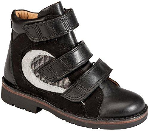 Piedro Concepts Kinder Orthopädische Schuhe-Modell s25005 Schwarz