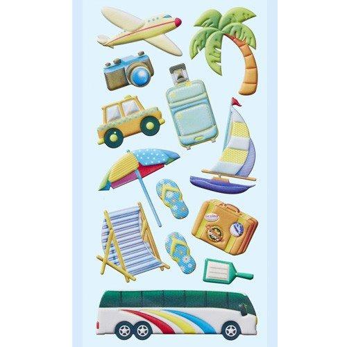 Preisvergleich Produktbild Softy-Sticker Urlaubsreise