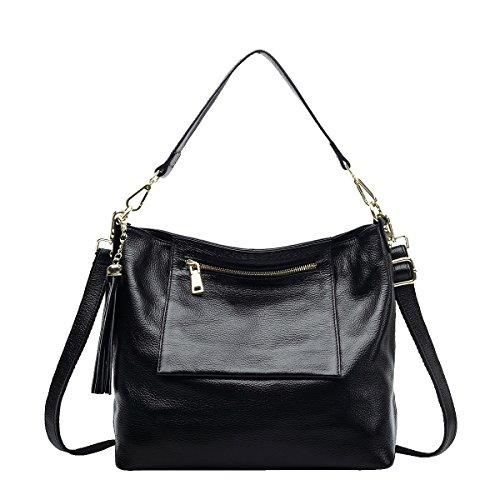 Mena UK-Femmes Casual Sac en cuir souple / Sac à bandoulière / Messenger Bag / Sac Shell / Wings Sac / Tassel Bag