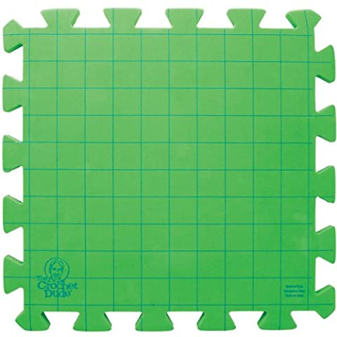 Boye The Crochet Dude Blocking Board Puzzle, Green