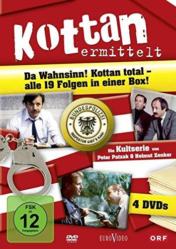 Kottan ermittelt - Alle 19 Folgen in einer Box (4 DVDs)