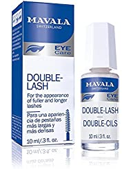 Mavala Double Lash - Strengthens Lashes Eyebrows For A Longer, Denser Stronger Effect 10ml