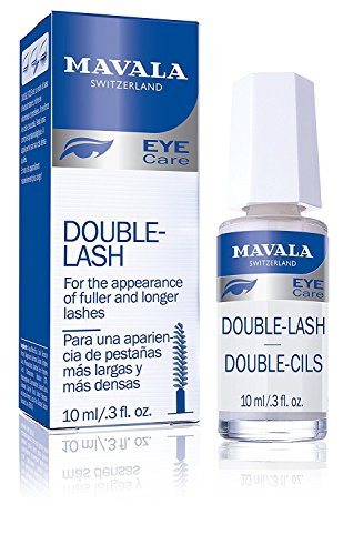 Mavala Double Lash- Strengthens Lashes Eyebrows For A Longer, Denser Stronger Effect, 10 ml