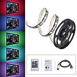 Ruban--LED-RGB-HDTV-OMorc-LED-Bande-Flexible-Etanche-avec-Port-USB-Kit-de-Rtroclairage-Color-LED-Strip-Light-via-Tlcommande-pour-Ecran-LCD-de-TV-Moniteurs-de-Bureau-1-Mtre