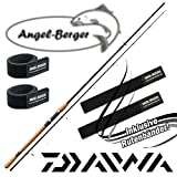 Daiwa Lexa Spin Spinnrute mit gratis Angel Berger Rutenband (2.70m)