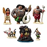 Playset ufficiale Disney Moana 10-Set Figurine