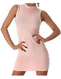 Damen Kleid, elegant und sexy, ein Abend.-oder Cocktail Kleid in vielen Farben erhältlich, passend für die Größen 34 36 38