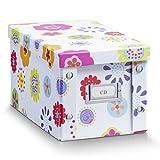 Zeller 17850 Aufbewahrungsbox, Kids, Pappe, ca. 16,5 x 28 x 15 cm
