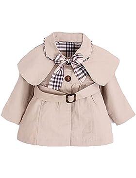 YaoDgFa Baby Mädchen Jacke Mantel Trenchcoat Sweatjacke Prinzessin Kinderjacken kleidung Outerwear 0-3 Jahre Frühling...