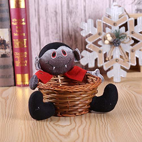 Fruits Basket Halloween Kostüm - TMOTYE Halloween Doll Fruit Decoration Bowl