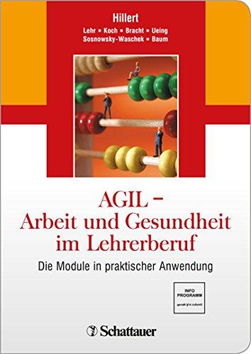 sundheit im Lehrerberuf: Die Module in praktischer Anwendung (Gesundheitswesen Führung)
