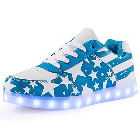 Masque Pour Prom - AFFINEST LED Clignotants Chaussures Étoile Motif 7