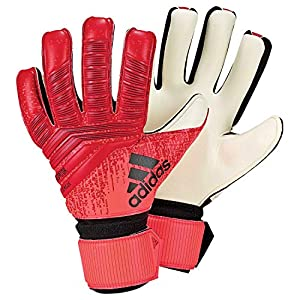 adidas Pred League Goalkeeper Gloves (W/O Fingersave), Unisex Adulto, Unisex Adulto, DN8575, Rosso/Nero (Active Red/Black/Solar Red), 5