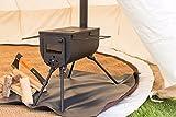 Bushcraft Woodsman tragbarer Holzofen für draußen, Campen, Glampen