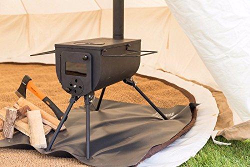 Bushcraft Woodsman tragbarer Holzofen für draußen, Campen, Glampen -