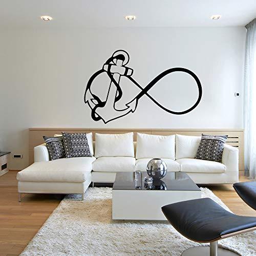 jiuyaomai DIY Selbstklebende Vinylwasserdicht wandkunst Aufkleber für kinderzimmer DIY DekorationAufkleber wohnkultur l 43 cm x 68 cm