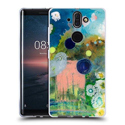 Head Case Designs Ufficiale Wyanne Mezza Luce Natura 2 Cover Morbida In Gel Per Nokia 8 Sirocco