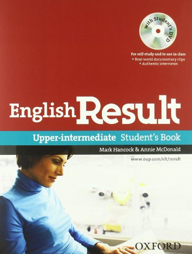 English result. Upper-intermediate. Entry checker-Student's book-Workbook-Key. Con espansione online. Per le Scuole superiori. Con DVD. Con CD-ROM. Con Multi-ROM