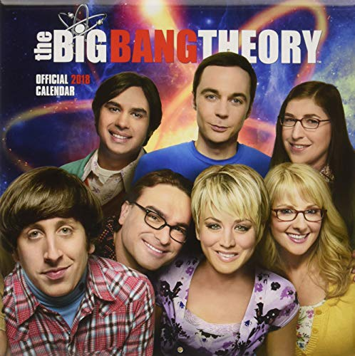 Big Bang Theory Official 2018 Calendar - Square Wall Format (Calendar 2018) - Theory-stift Big Bang