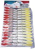 DRYZEM Premium Klammern Extra Starke Wäscheklammern mit weichem Griff Packung