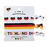 Null Karat Armband und Haarband Team Deutschland