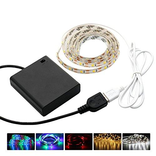 Iluminación retroiluminación LED TV + Kit DC 5V USB LED tira 2835con...